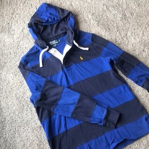 Polo Ralph Lauren Rugby Hoodie size Large